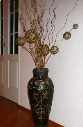 Как сделать цветы для вазы своими руками