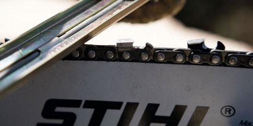Инструменты для заточки бензопилы