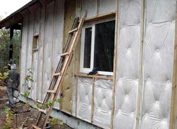 Утепляем дом снаружи своими руками