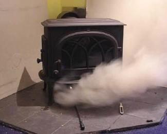 навьен подключение к дымоходу