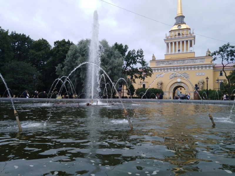 Материалы с тэгом «сезон фонтанов»